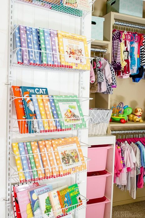Closet Organizer Ideas - Kids Closet
