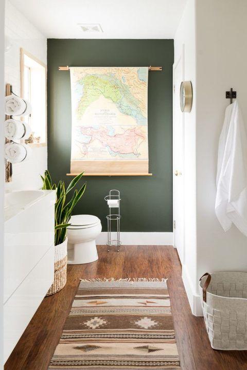 bathroom ideas map