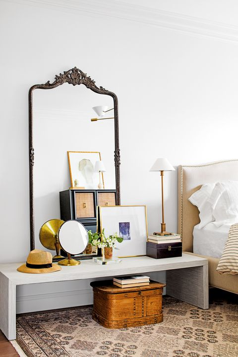 bedroom ideas console table