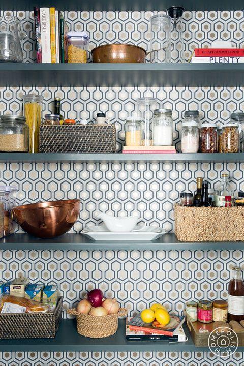 pantry organization ideas - wallpaper