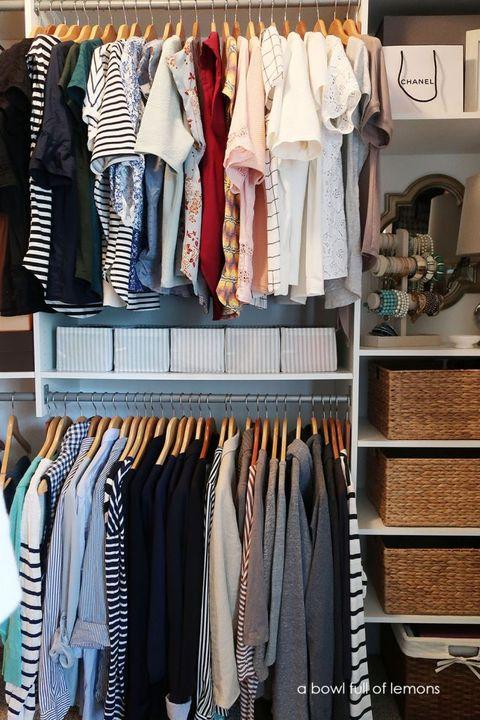 Closet Organizer Ideas - Master Closet