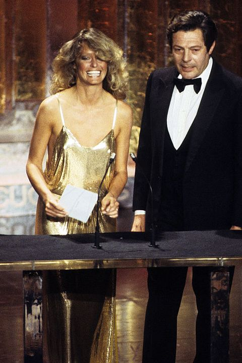 Scandalous Oscars Dresses - Farrah Fawcett