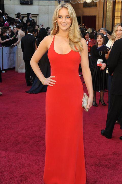 Scandalous Oscars Dresses - Jennifer Lawrence
