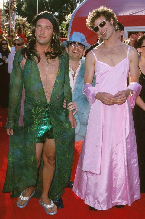 Scandalous Oscars Dresses - Matt Stone and Trey Parker
