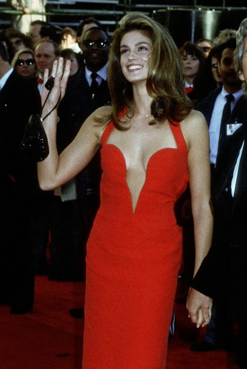 Scandalous Oscars Dresses - Cindy Crawford