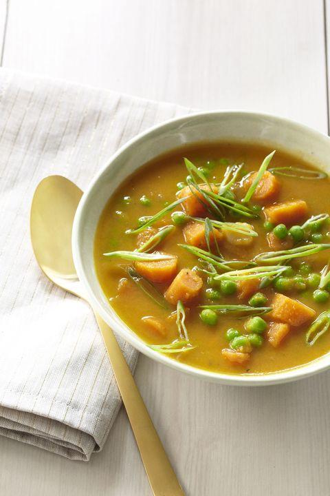ginger spiced carrot soup