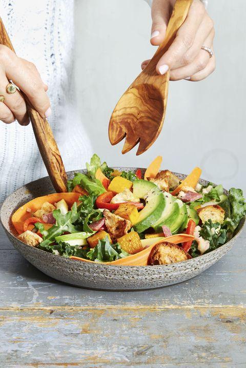 arugula kale harvest salad   best kale recipes