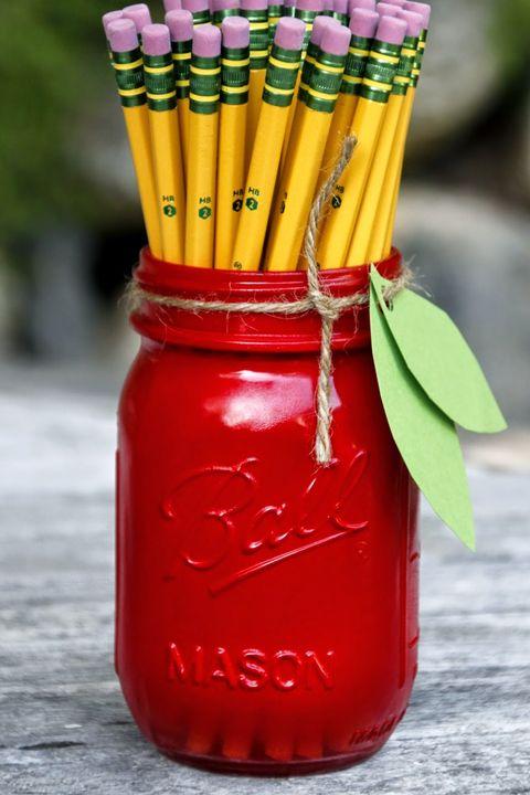 back to school crafts crafts apple mason jar