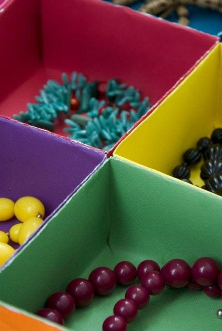closet organizer ideas - DIY drawer organizers