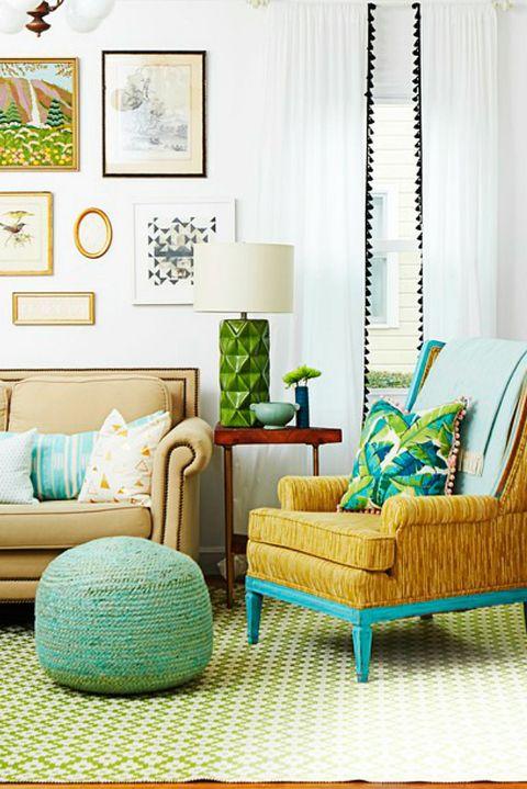 Pom Pom Curtains - DIY Home Decor