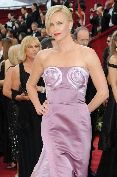 Scandalous Oscars Dresses - Charlize Theron