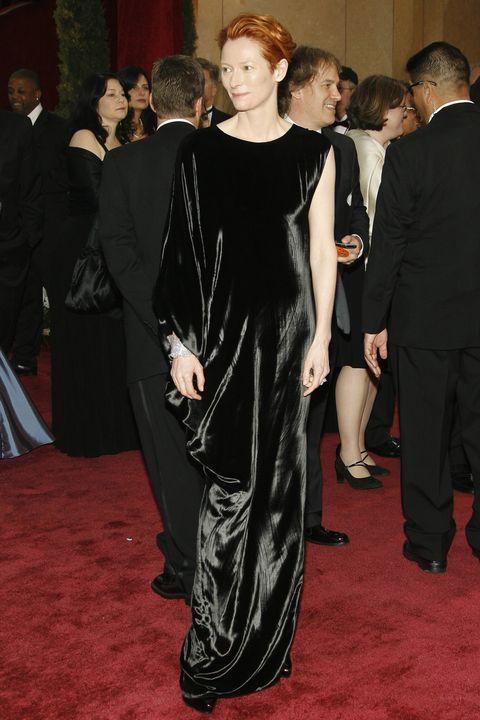 Scandalous Oscars Dresses - Tilda Swinton