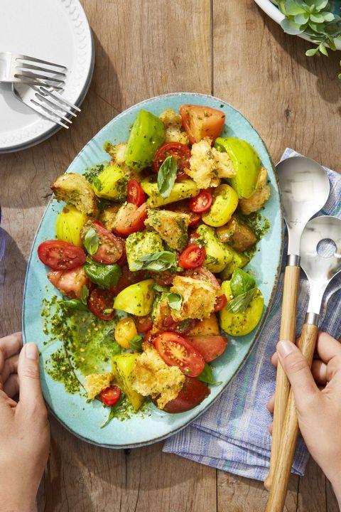 tomato panzanella   memorial day side dishes