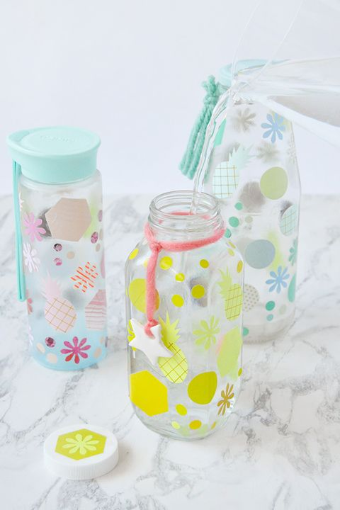 mod podge water bottles