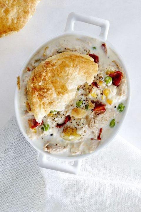 Rotisserie Chicken Recipes - chicken pot pie