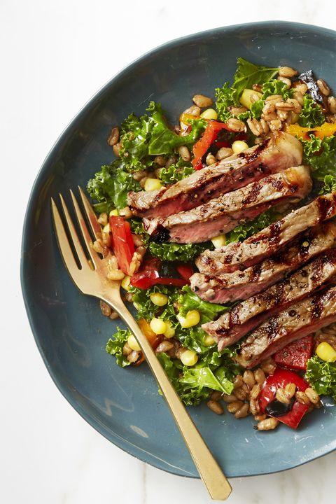 Summer Farro Salad - Summer Dinner Recipes