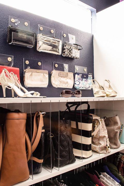 Closet Organizer Ideas - purse organizers
