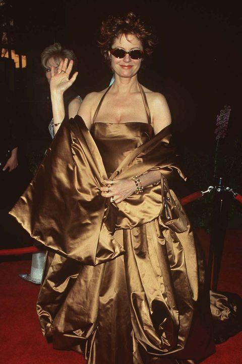 Scandalous Oscars Dresses - Susan Sarandon
