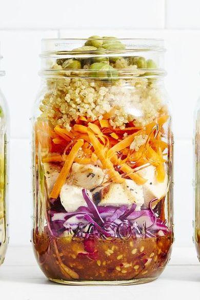 rotisserie chicken recipes - sesame chicken salad