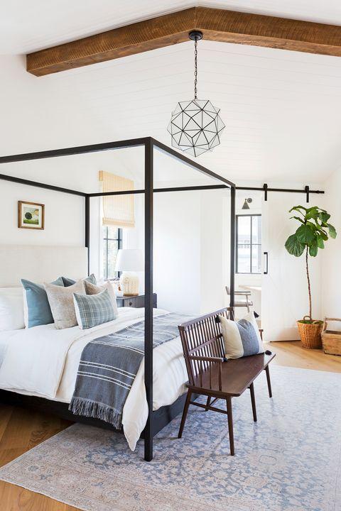 bedroom ideas wood bench