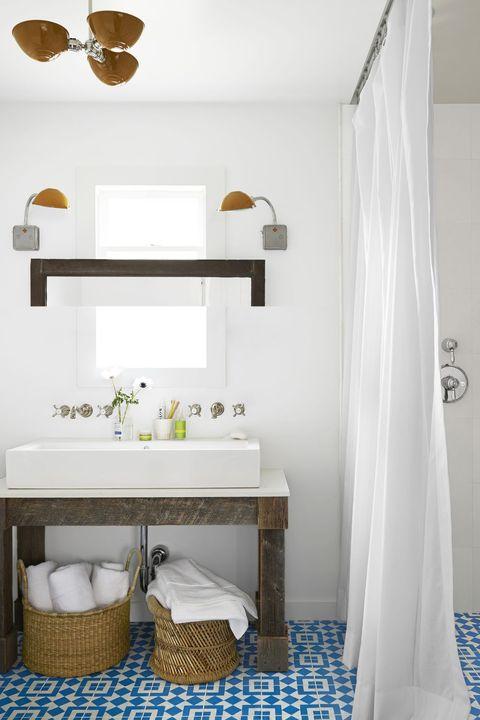 Bathroom Organization Ideas - Baskets