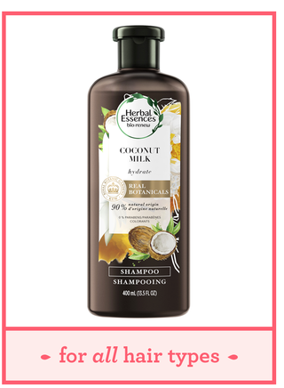 herbal essences biorenew hydrating coconut milk shampoo