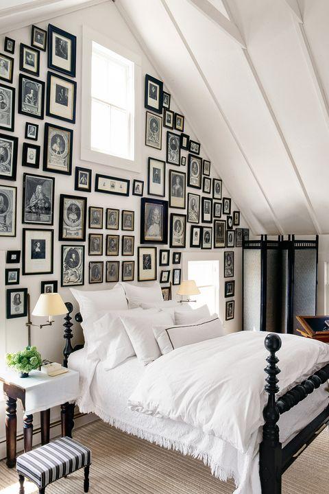 bedroom ideas matching frames