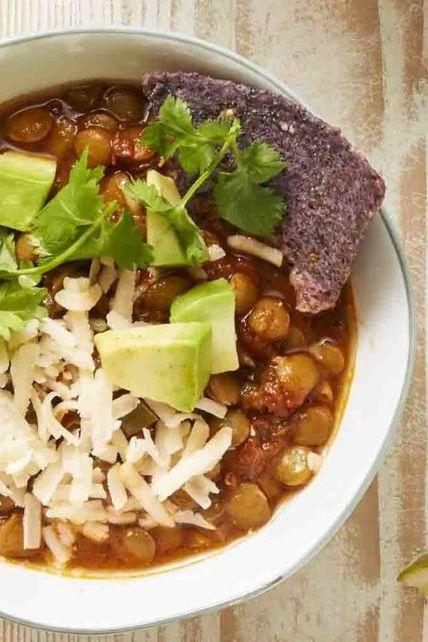 chipotle lentil chili