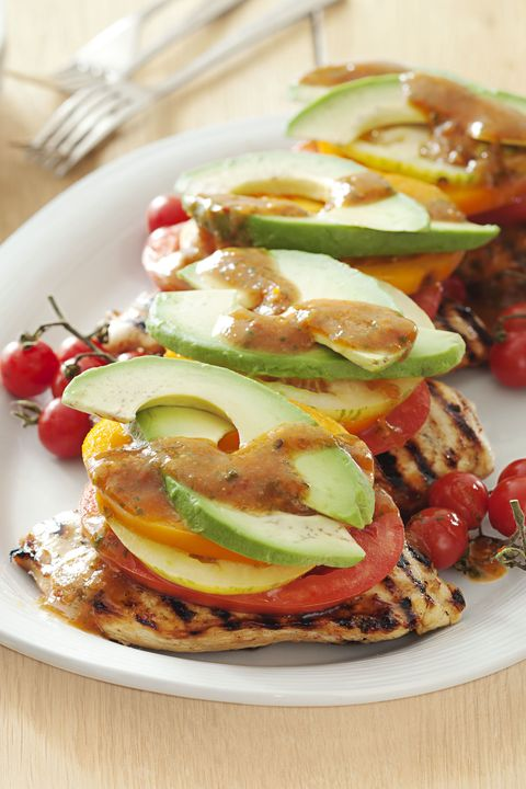 Sweet Chipotle Chicken Stacks - Grilled Chicken Recipes