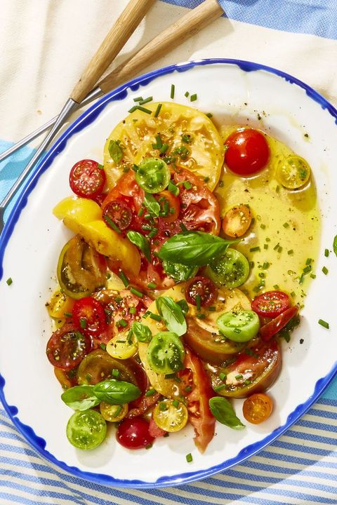 heirloom tomato salad   4th of july appetizers