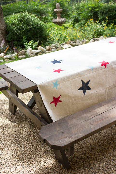 fourth of july tablecloth