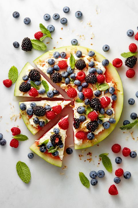 4th of july desserts   watermelon pizza