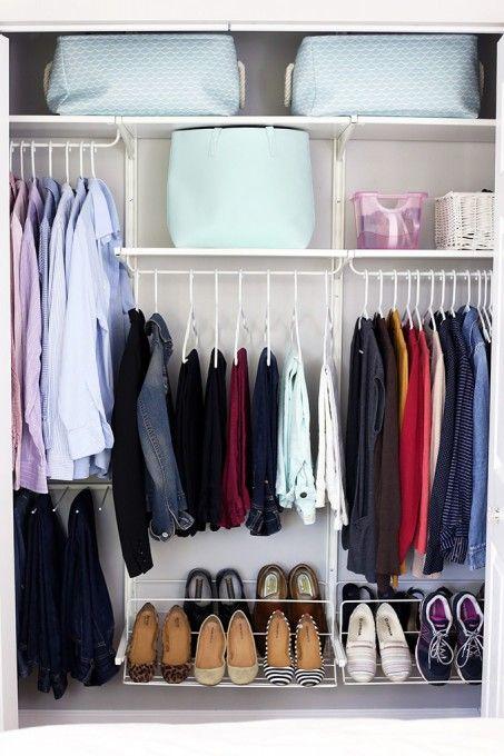 Closet Organizer Ideas - containers