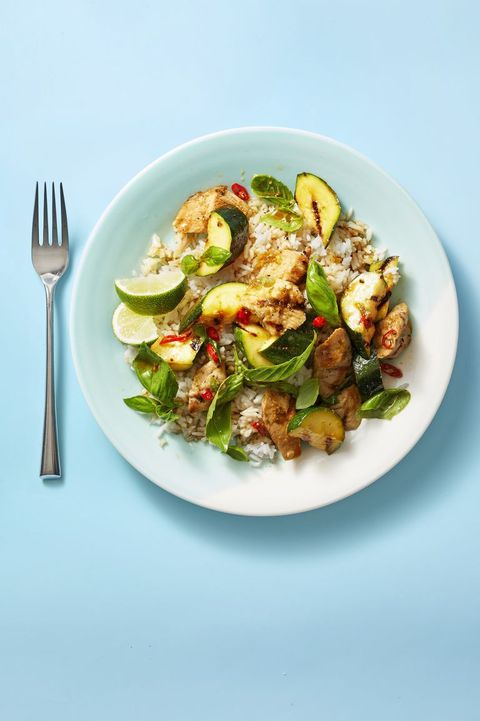grilled basil chicken and zucchini   grilled chicken recipes