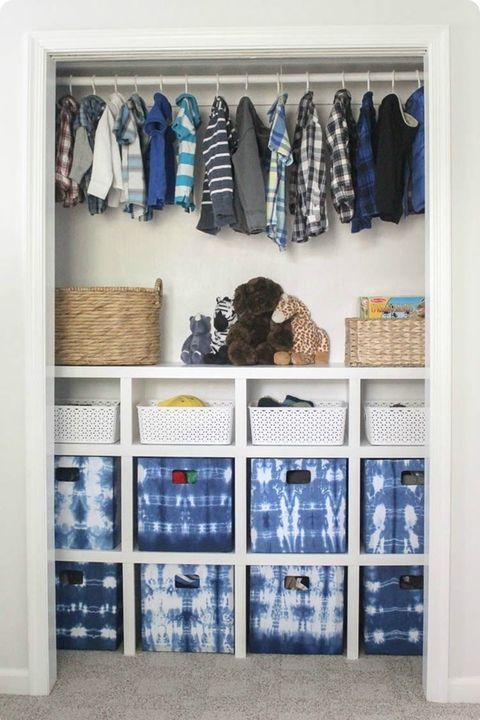 Closet Organizer Ideas - DIY shelves