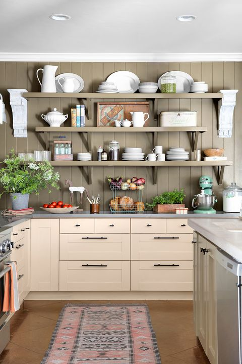 kitchen ideas wall display