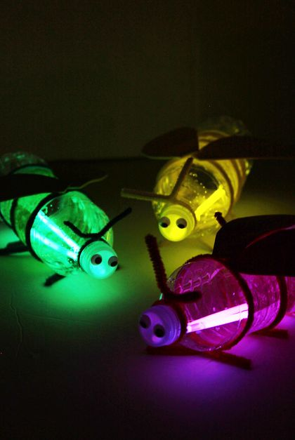 glow stick firefly craft