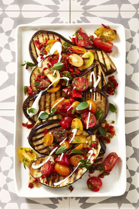 cayenne grilled eggplant   4th of july appetizers