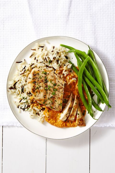 chicken breast recipes - Grilled Chicken Romesco