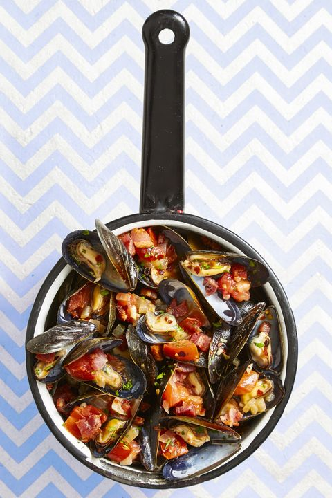 spicy italian mussels and frites   summer dinner recipes