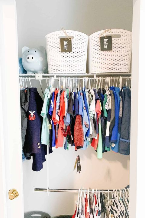 closet organizer ideas - bins