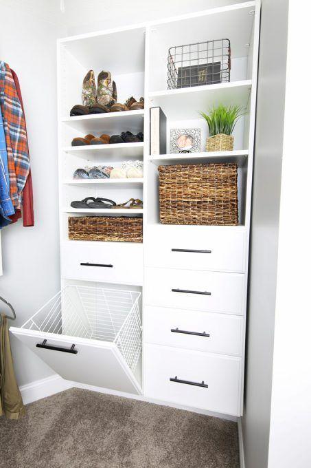 bedroom ideas hidden hamper