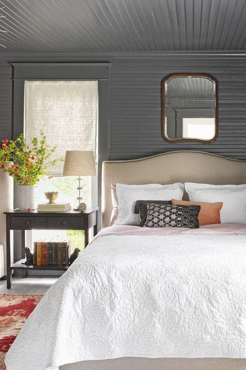 bedroom ideas wood paneling