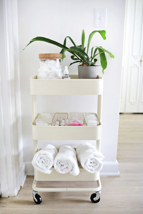 Shelf, White, Furniture, Product, Shelving, Room, Table, Plant, Nightstand,