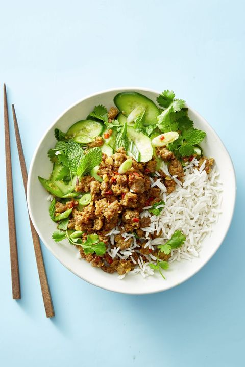 Ginger Pork and Cucumber Salad - Summer Dinner Recipes