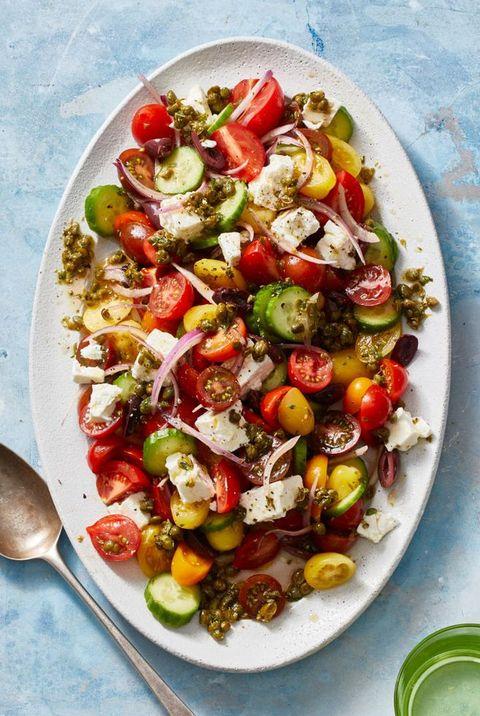bbq side dishes   greek salad