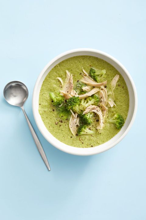 healthy fall recipes   broccoli soup