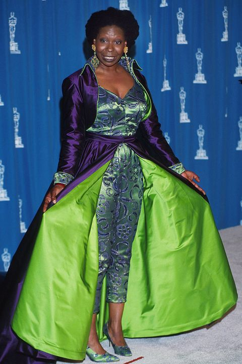 Scandalous Oscars Dresses - Whoopi Goldberg
