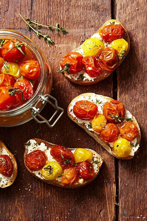 cherry tomato confit    4th of july appetizers