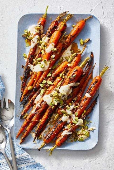 bbq sides   grilled carrots